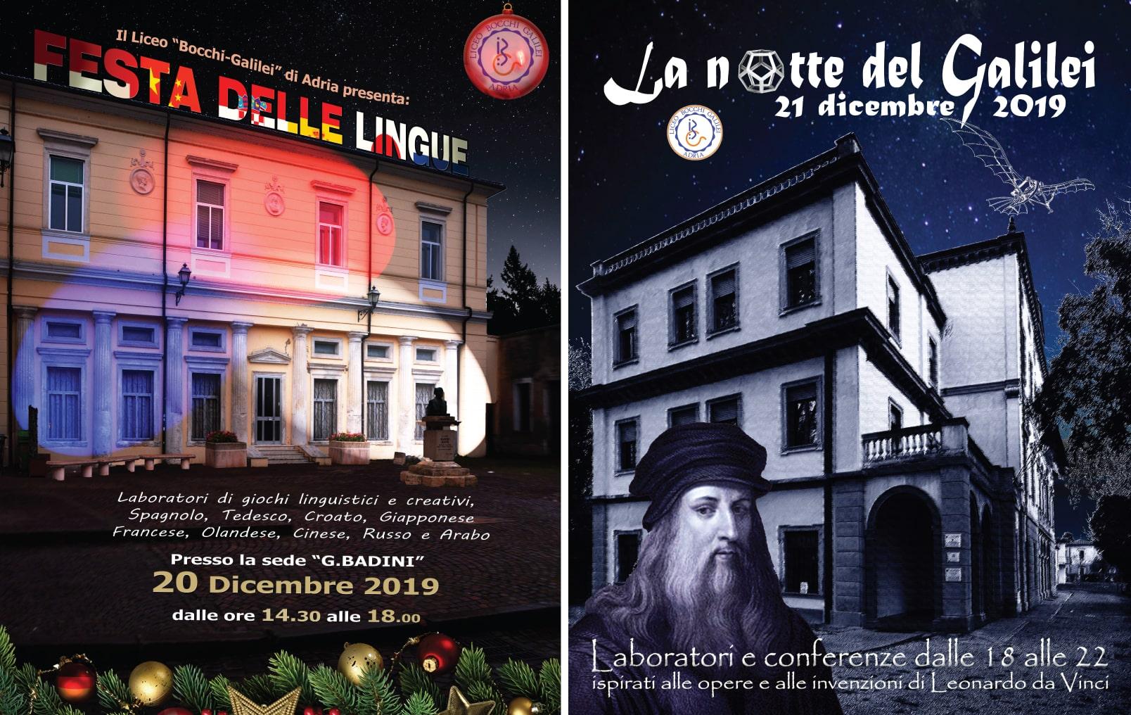 Festa delle Lingue & Notte del Galilei
